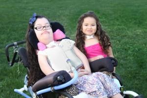 Photo of Adrianna and Arianna
