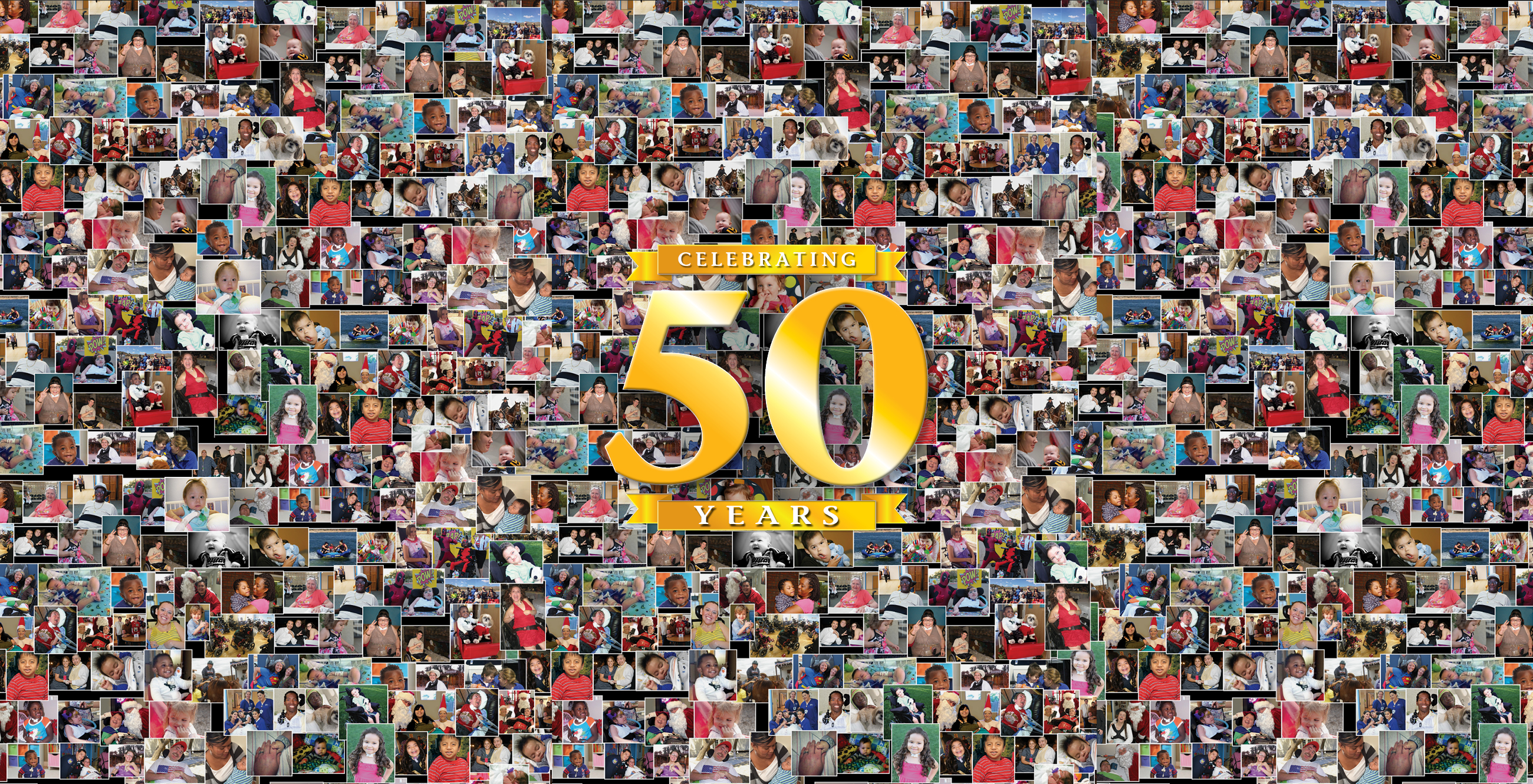 Celebrating 50 Years Collage SliderImage